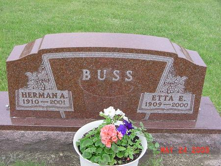 BUSS, HERMAN - Lyon County, Iowa | HERMAN BUSS