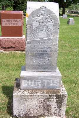 CURTIS, MINNIE W. - Lyon County, Iowa | MINNIE W. CURTIS