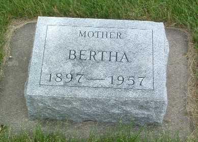 DE GRAAF, BERTHA - Lyon County, Iowa | BERTHA DE GRAAF