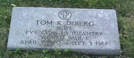 DEBERG, TOM K. - Lyon County, Iowa | TOM K. DEBERG