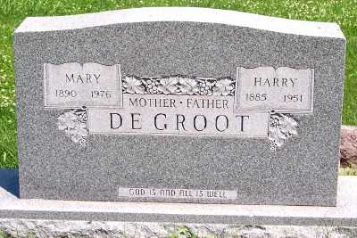 DEGROOT, MARY - Lyon County, Iowa | MARY DEGROOT