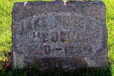 DEJONG, JAKE ROBERT (1910-1930) - Lyon County, Iowa   JAKE ROBERT (1910-1930) DEJONG
