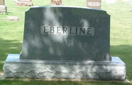 EBERLINE, HEADSTONE - Lyon County, Iowa | HEADSTONE EBERLINE
