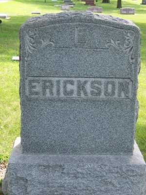 ERICKSON, FAMILY HEADSTONE - Lyon County, Iowa | FAMILY HEADSTONE ERICKSON