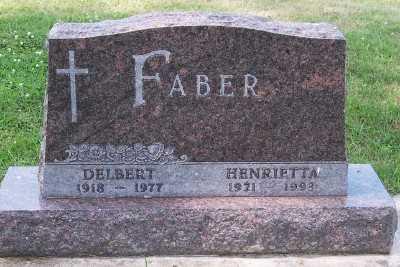 FABER, DELBERT - Lyon County, Iowa | DELBERT FABER