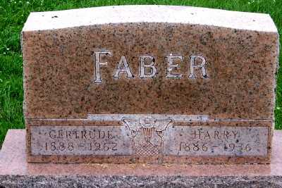 FABER, HARRY - Lyon County, Iowa | HARRY FABER