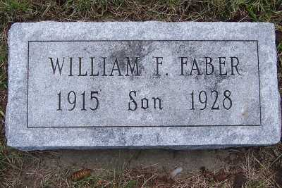 FABER, WILLIAM F. - Lyon County, Iowa | WILLIAM F. FABER