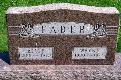 FABER, WAYNE - Lyon County, Iowa | WAYNE FABER