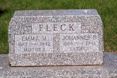 FLECK, JOHANNES D. - Lyon County, Iowa | JOHANNES D. FLECK