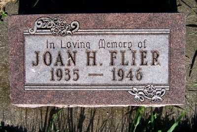 FLIER, JOAN H. - Lyon County, Iowa | JOAN H. FLIER