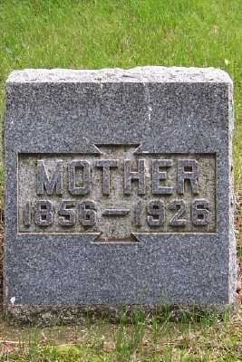 FLITCH, MOTHER - Lyon County, Iowa | MOTHER FLITCH
