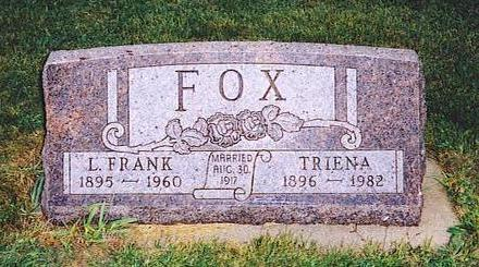FOX, LOUIS FRANKLIN - Lyon County, Iowa | LOUIS FRANKLIN FOX