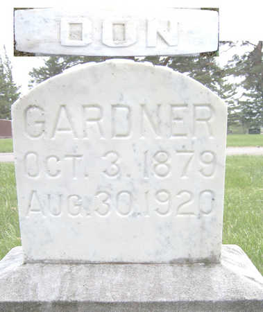 GARDNER, DON - Lyon County, Iowa | DON GARDNER