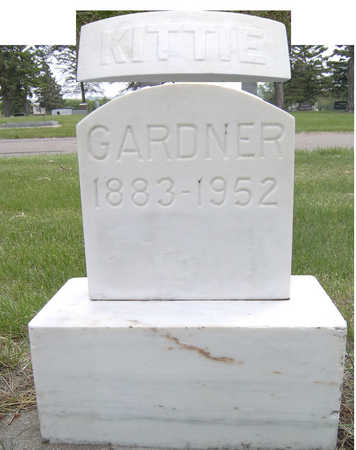 GARDNER, KITTIE - Lyon County, Iowa | KITTIE GARDNER
