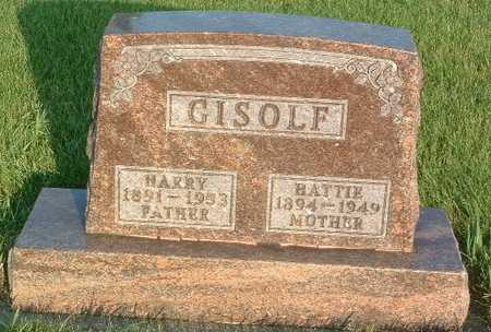 GISOLF, HARRY - Lyon County, Iowa | HARRY GISOLF