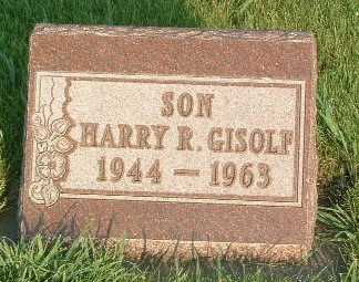 GISOLF, HARRY R. - Lyon County, Iowa | HARRY R. GISOLF