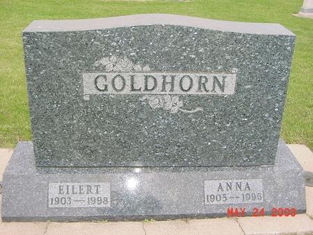 GOLDHORN, ANNA - Lyon County, Iowa | ANNA GOLDHORN