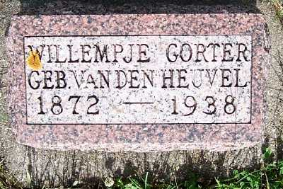 VANDEN HEUVEL GORTER, WILLEMPJE - Lyon County, Iowa | WILLEMPJE VANDEN HEUVEL GORTER