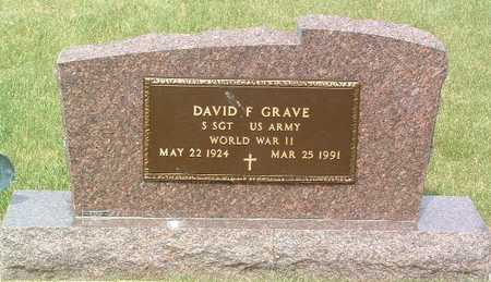 GRAVE, DAVID F. - Lyon County, Iowa | DAVID F. GRAVE