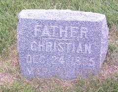 GRIESSE, CHRISTIAN - Lyon County, Iowa   CHRISTIAN GRIESSE