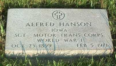 HANSON, ALFRED - Lyon County, Iowa | ALFRED HANSON