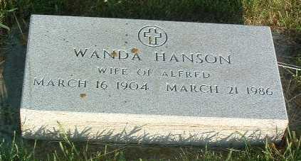 HANSON, WANDA - Lyon County, Iowa | WANDA HANSON