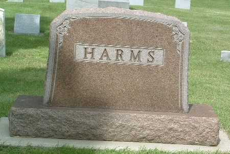 HARMS, HEADSTONE - Lyon County, Iowa | HEADSTONE HARMS