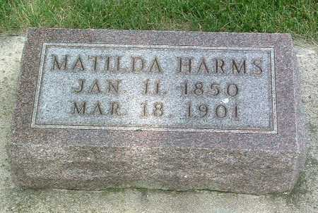 HARMS, MATILDA - Lyon County, Iowa | MATILDA HARMS