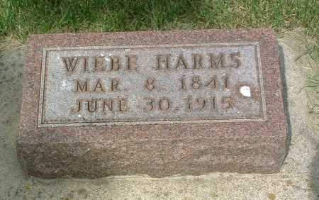 HARMS, WIEBE - Lyon County, Iowa | WIEBE HARMS