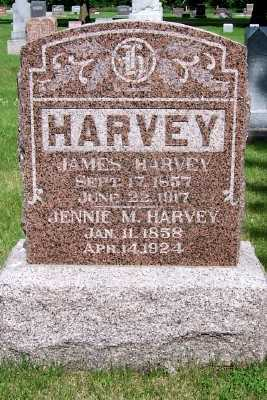 HARVEY, JENNIE M. - Lyon County, Iowa | JENNIE M. HARVEY