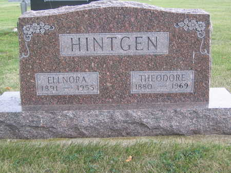 HINTGEN, ELLNORA - Lyon County, Iowa | ELLNORA HINTGEN