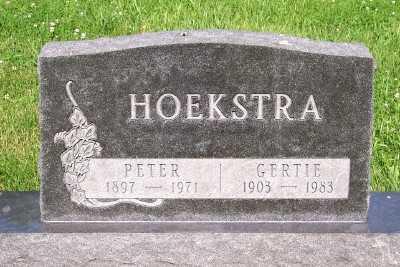 HOEKSTRA, PETER - Lyon County, Iowa | PETER HOEKSTRA