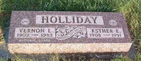 HOLLIDAY, ESTHER E. - Lyon County, Iowa | ESTHER E. HOLLIDAY