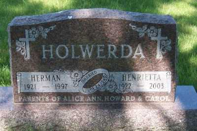 HOLWERDA, HERMAN - Lyon County, Iowa | HERMAN HOLWERDA