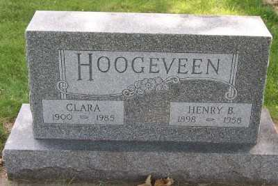 HOOGEVEEN, HENRY B. - Lyon County, Iowa | HENRY B. HOOGEVEEN