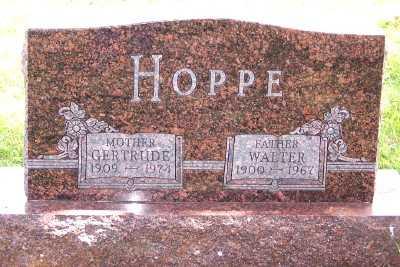 HOPPE, WALTER - Lyon County, Iowa | WALTER HOPPE