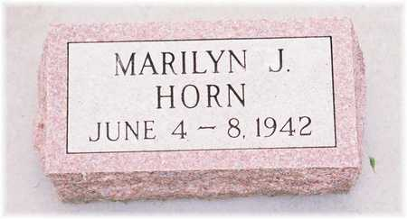 HORN, MARILYN J. - Lyon County, Iowa | MARILYN J. HORN