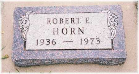 HORN, ROBERT E. - Lyon County, Iowa | ROBERT E. HORN