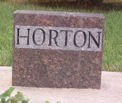 HORTON, FAMILY HEADSTONE - Lyon County, Iowa | FAMILY HEADSTONE HORTON