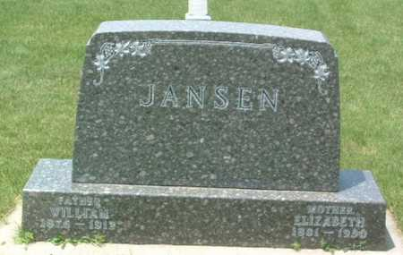JANSEN, WILLIAM - Lyon County, Iowa | WILLIAM JANSEN