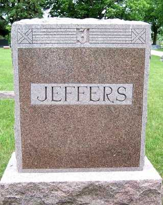 JEFFERS, HEADSTONE - Lyon County, Iowa | HEADSTONE JEFFERS
