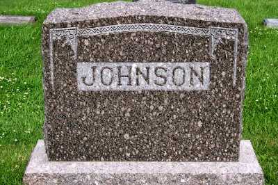 JOHNSON, HEADSTONE - Lyon County, Iowa | HEADSTONE JOHNSON