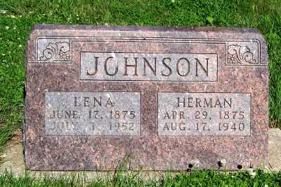 JOHNSON, LENA - Lyon County, Iowa | LENA JOHNSON