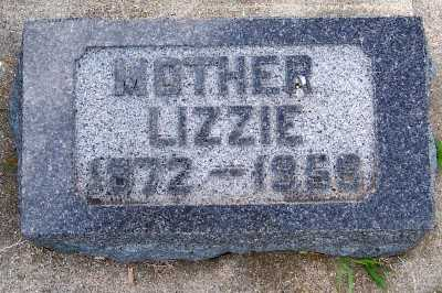 JOHNSON, LIZZIE (1872-1958) - Lyon County, Iowa | LIZZIE (1872-1958) JOHNSON