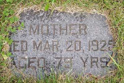 JOHNSON, MOTHER - Lyon County, Iowa | MOTHER JOHNSON