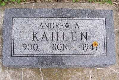 KAHLEN, ANDREW - Lyon County, Iowa | ANDREW KAHLEN