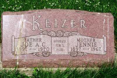 KEIZER, JOE A. C. - Lyon County, Iowa | JOE A. C. KEIZER