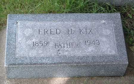 KIX, FRED H. - Lyon County, Iowa | FRED H. KIX