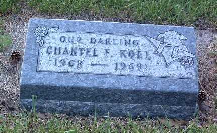 KOEL, CHANTEL F. - Lyon County, Iowa   CHANTEL F. KOEL