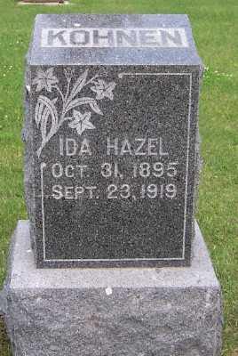 KOHNEN, IDA HAZEL - Lyon County, Iowa | IDA HAZEL KOHNEN